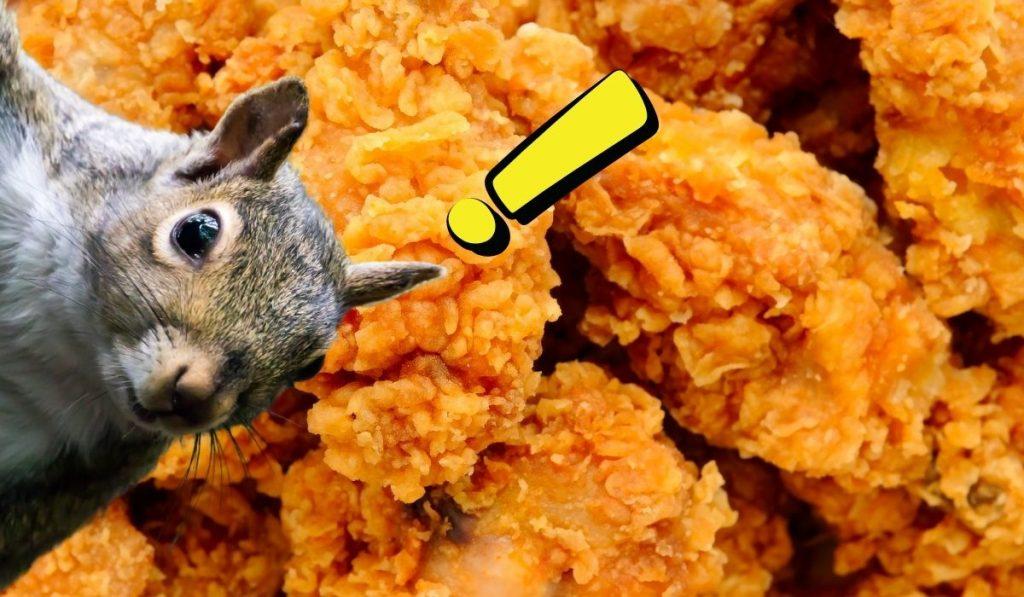 Ardillas y Pollo Frito